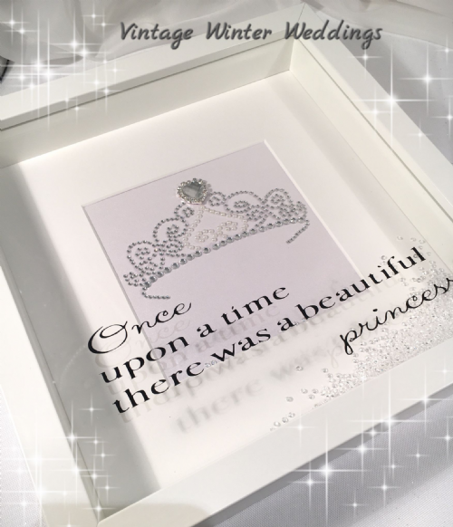 Princess keepsake frame